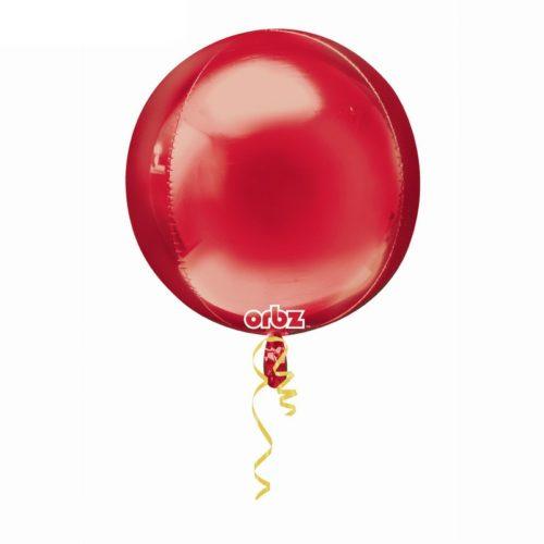 Шар 41 см 3D СФЕРА Красный