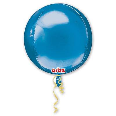 Шар 41 см 3D СФЕРА Синий