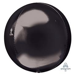 Шар 41 см 3D СФЕРА Черный