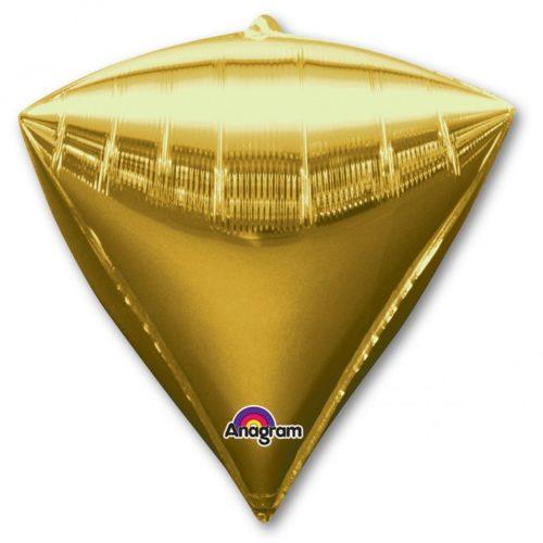 Шар 44 см 3D АЛМАЗ Золото