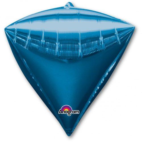 Шар 44 см 3D АЛМАЗ Синий