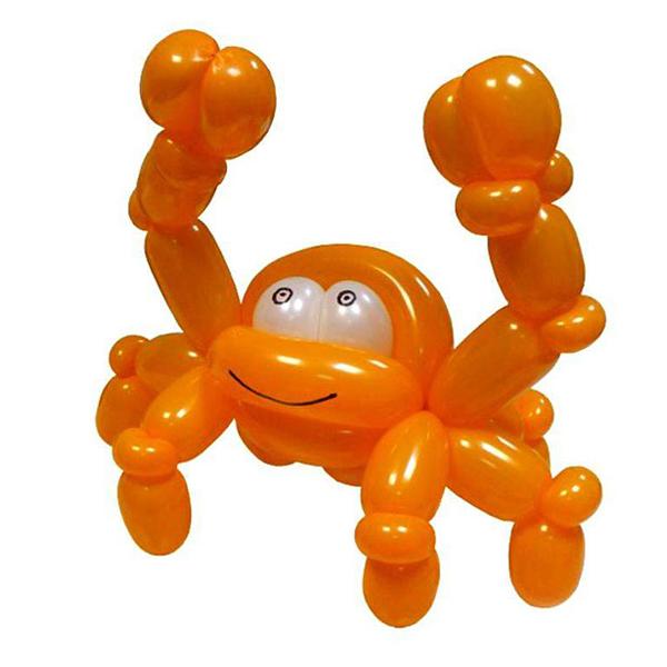 Краб из воздушных шаров мастер класс
