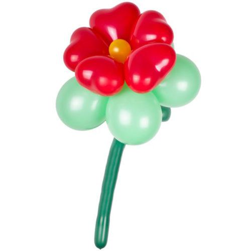 Красно-зеленый цветок