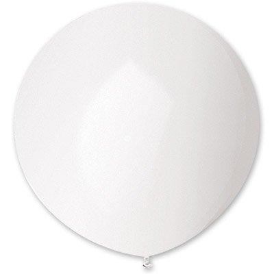 Шар 150 см Белый пастель
