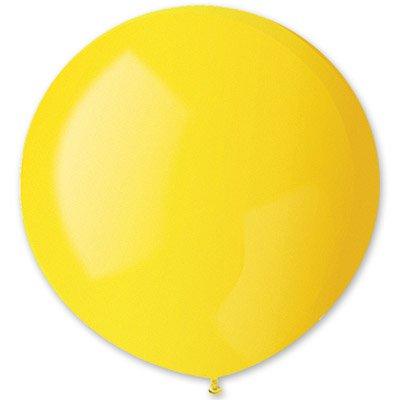 Шар 150 см Желтый пастель