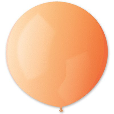 Шар 150 см Оранжевый пастель