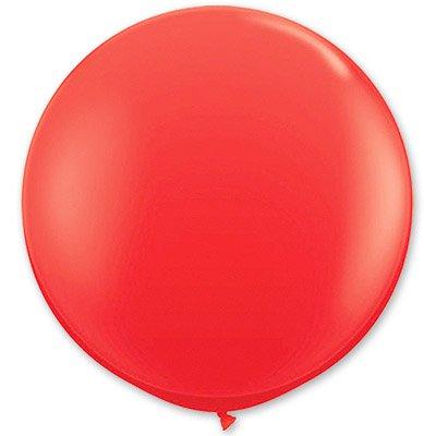 Шар 250 см Красный пастель