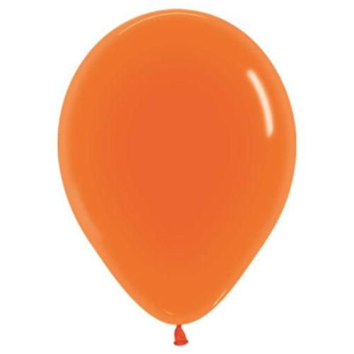 Шар 30 см кристалл Оранжевый 361