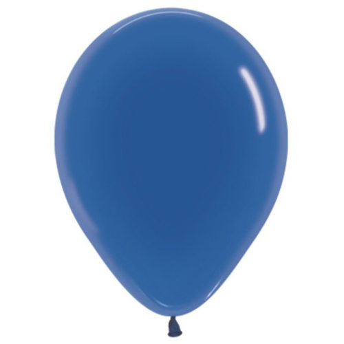 Шар 30 см кристалл Синий 340