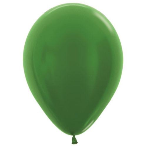 Шар 30 см металлик Зеленый 530