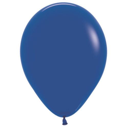 Шар 30 см пастель Синий 041