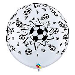 Шар 91 см Мяч Футбольный Белый