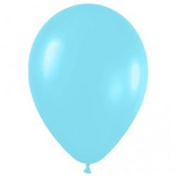 Шар 30 см перламутр Карибская синева 438 1