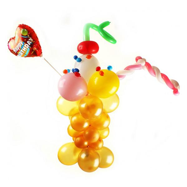 Коктейль из воздушных шаров