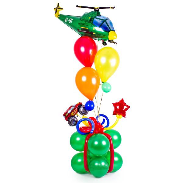 Мальчику на день рождения из шаров подарок для