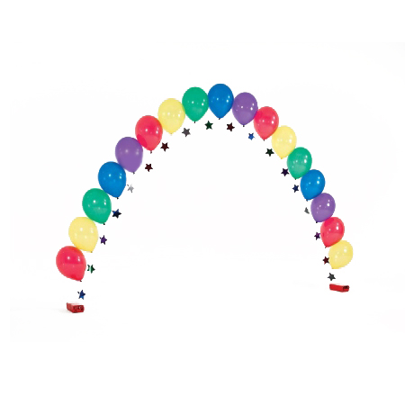 Арка из простых шаров