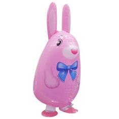 Шар 64 см Ходячая Фигура Кролик Розовый