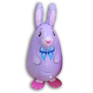 Шар 64 см Ходячая Фигура Кролик Фиолетовый