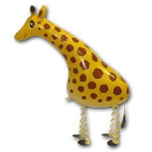 Шар 71 см Ходячая Фигура Жираф Желтый
