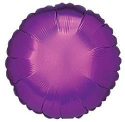 Шар 46 см Круг Фиолетовый вариант 2
