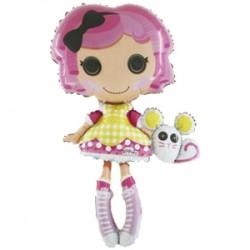 Шар 81 см Фигура Кукла маленькие пуговки