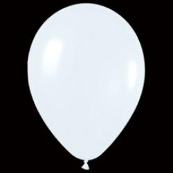 Шар 13 см Белый пастель