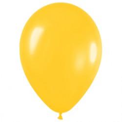 Шар 13 см Желтый металлик