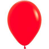 Шар 13 см Красный пастель