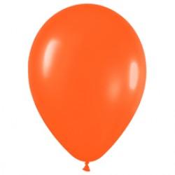 Шар 13 см Оранжевый пастель