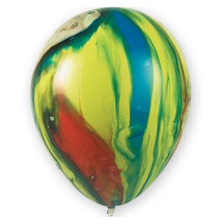Шар 30 см Многоцветный вариант 1