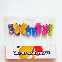 Свечи Бабочки 5шт