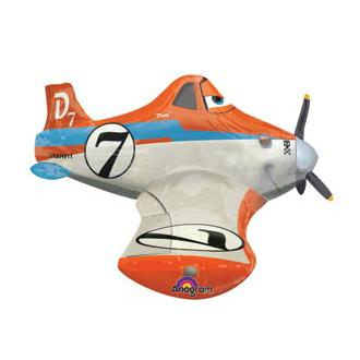Шар 111 см Ходячая Фигура Самолеты Дасти