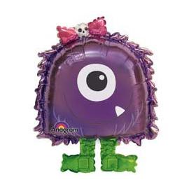 Шар 132 см Фиолетовый монстр