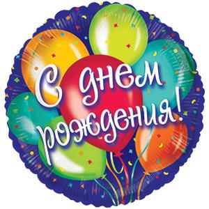 с днем рождения шарики картинки