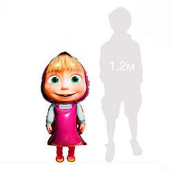 Шар 74 см Ходячая Фигура Маша