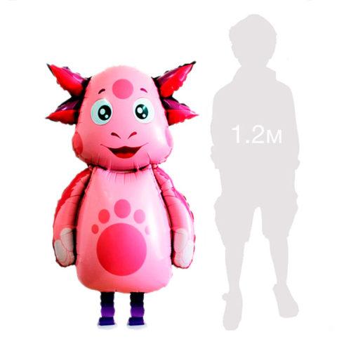 Шар 100 см Ходячая Фигура Лунтик