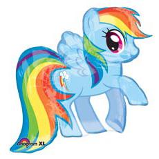 Шар 63 см Фигура My Little Pony радужная