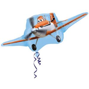 Шар 84 см Фигура Самолеты Дасти