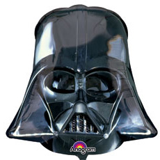 Шар 109 см Звездные Войны Шлем Вейдера