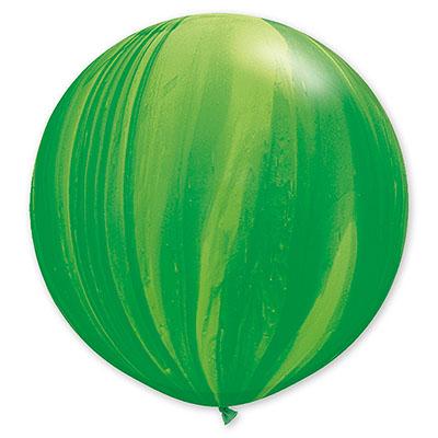 Шар 70 см Супер Агат Зеленый