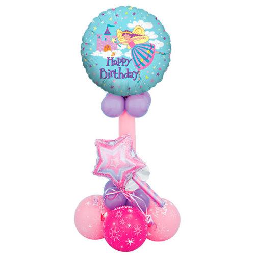Колонна для принцессы из воздушных шаров
