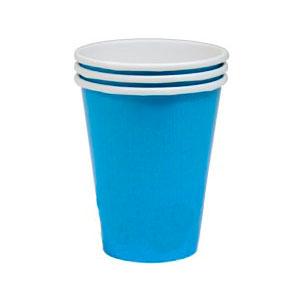 Стакан бумажный Голубой Caribbean Blue 8 шт