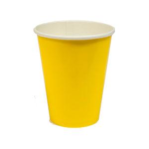 Стакан бумажный Желтый Yellow Sunshine 8 шт