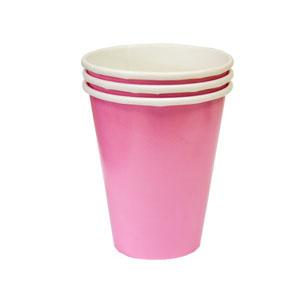Стакан бумажный Нежно-розовый Pink 8 шт