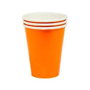 Стакан бумажный Оранжевый Orange Peel 8 шт