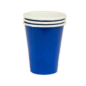 Стакан бумажный Синий Marine Blue 8 шт
