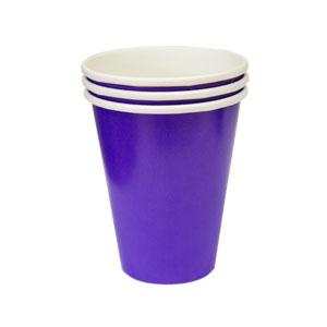 Стакан бумажный Purple 8 шт