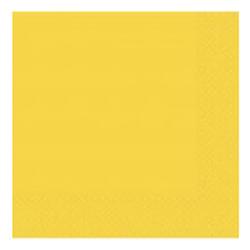 Салфетки 33 см Желтая Yellow Sunshine 16 штук