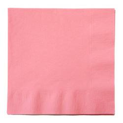 Салфетки 33 см Нежно-розовая Pink 16 штук
