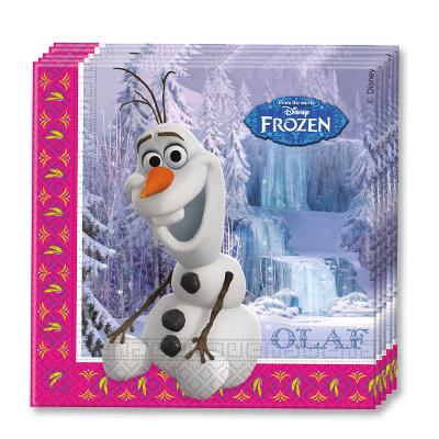Салфетки 33 см Frozen Олаф 20 штук